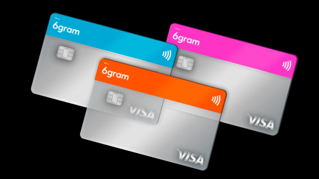 6gram|ロクグラム - Visa/JCB加盟店で使えるプリペイドカード